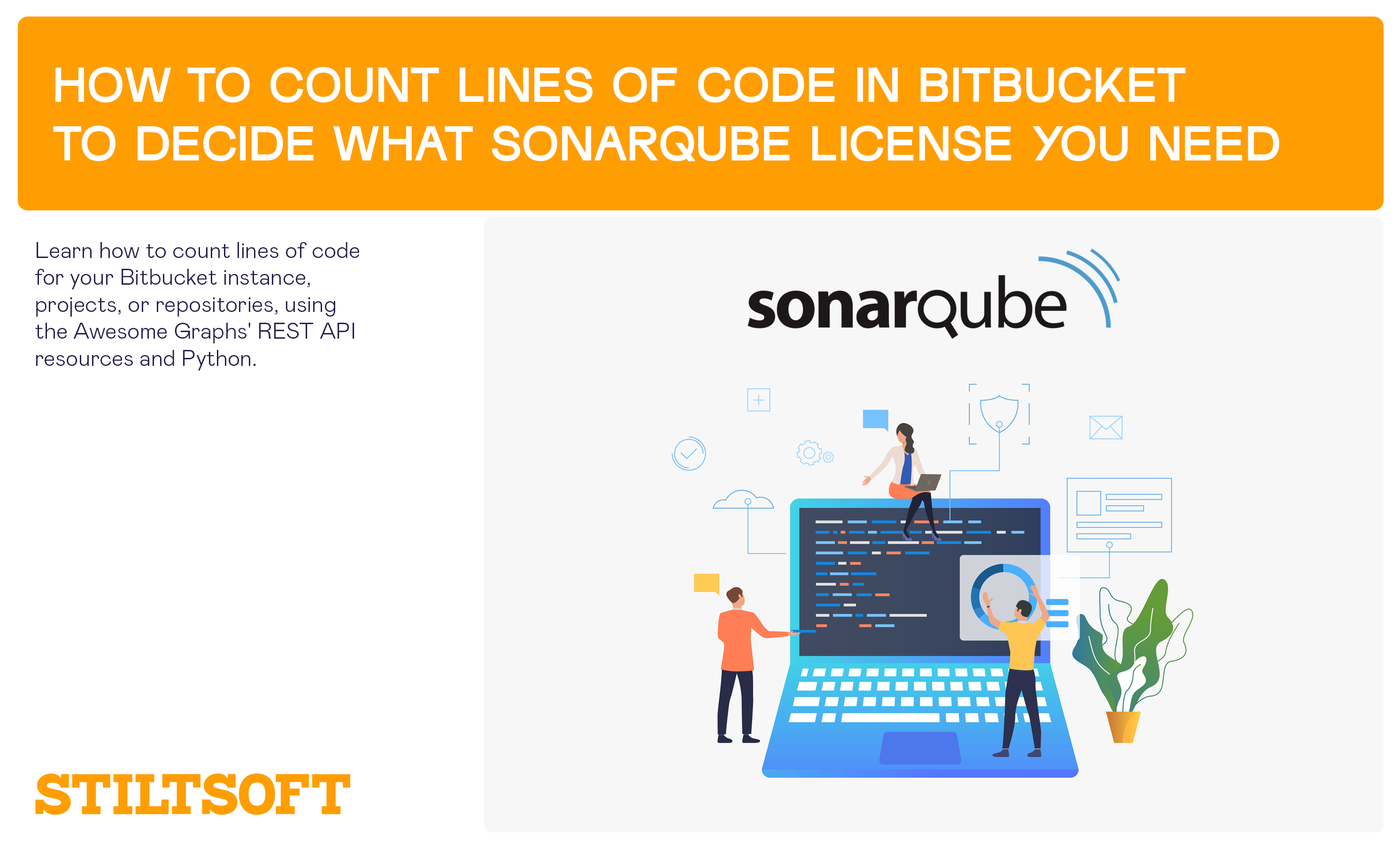 How to count lines of code in Bitbucket to decide what SonarQube license you need