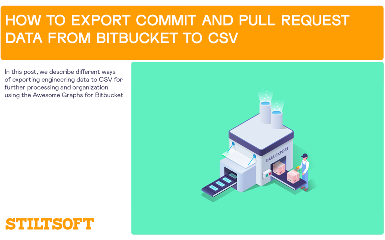How to Export Commit and Pull Request Data from Bitbucket to CSV
